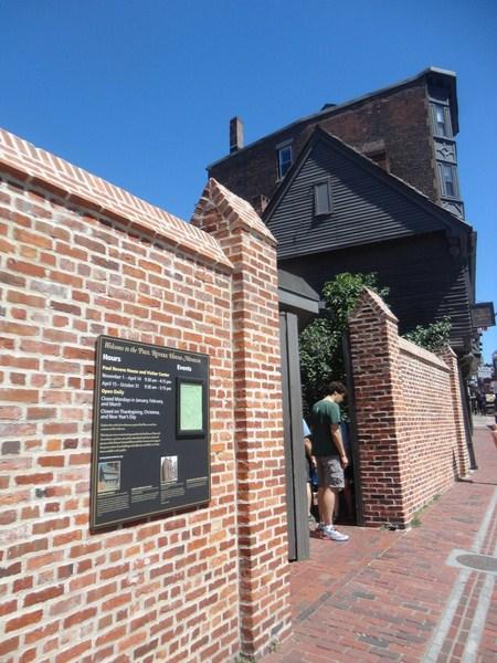 Paul Revere House (Boston, Massachusetts, USA) - B.L.A.S.T ...